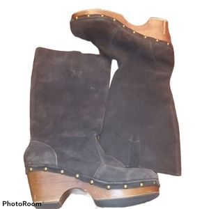 The Sisters Campbell Leather Clog Boots